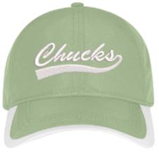 Spring Green Chucks Cap
